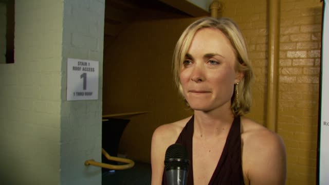 Radha Mitchell her biggest role and what it is like working in LA at the Australians in Film 2007 Breakthrough Awards at the Avalon Hotel in Beverly...