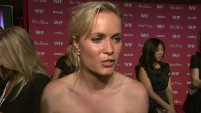 Radha Mitchell on being a part of the night her favorite women in film at the 2009 Women In Film Crystal Lucy Awards at Century City CA