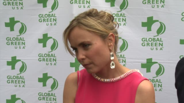 INTERVIEW Radha Mitchell on the event at Global Green USA's Annual Millennium Awards on 6/8/13 in Los Angeles CA