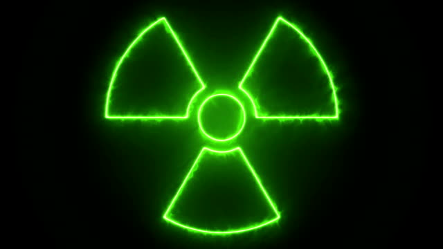 radiation sign - radiation stock videos & royalty-free footage
