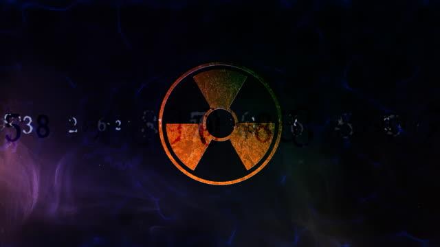 radioaktive strahlung - radioaktive strahlung stock-videos und b-roll-filmmaterial