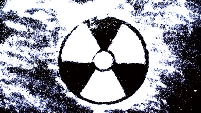 radiation - information symbol stock videos and b-roll footage