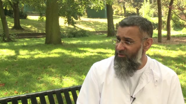 radical cleric anjem choudary long a thorn in the side of british authorities was released from prison on friday having served half his sentence for... - thorn stock videos & royalty-free footage