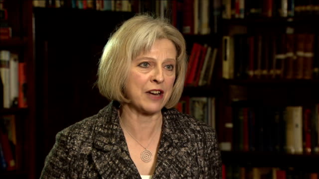 stockvideo's en b-roll-footage met theresa may interview england london int theresa may mp interview sot here with a group of muslim women who want to take a stand against those trying... - isis