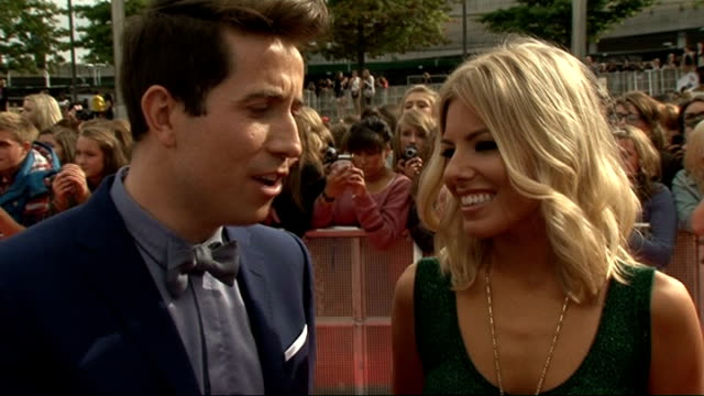 Radio 1 Teen Awards 2011 Nick Grimshaw and Mollie King interview SOT excited and looking forward to it incredibly nervous why the awards are so...