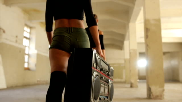 radio and old school dance - modern dancing stock videos & royalty-free footage