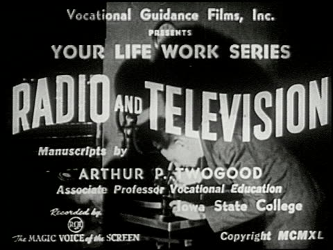 radio and television - 1 of 11 - radio broadcasting stock videos & royalty-free footage