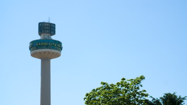 radio city tower, liverpool - communications tower stock videos & royalty-free footage