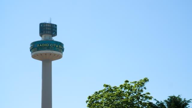 radio city tower, liverpool - mast stock videos & royalty-free footage