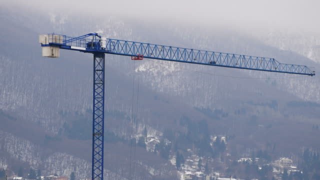radio controlled tower crane - remote control stock videos and b-roll footage