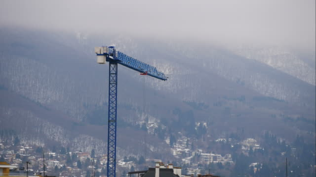 radio controlled tower crane - remote controlled stock videos and b-roll footage