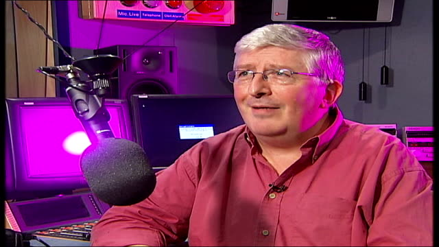 radio dj alan freeman dies aged 79 simon bates interview sot he was fired by first controller of radio 1 / in those days the word resignation was... - radio jockey stock videos & royalty-free footage