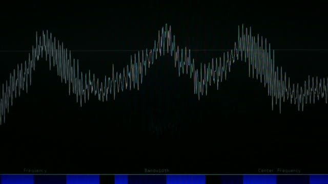 radio frequency - curve stock videos & royalty-free footage