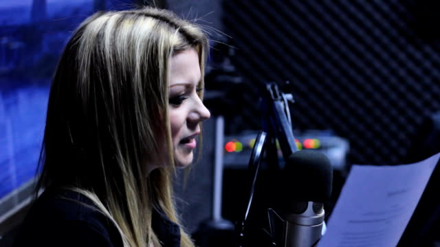 radio host - narrating stock videos & royalty-free footage