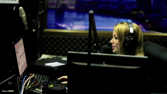 radio live - radio jockey stock videos & royalty-free footage