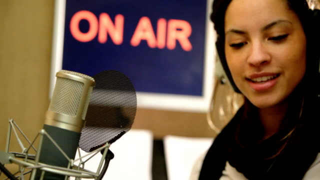 radio presenter - commentator stock videos & royalty-free footage