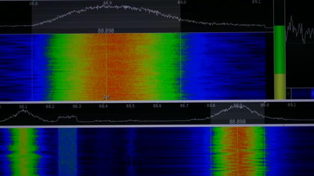 vídeos y material grabado en eventos de stock de radio spectrum - shaking