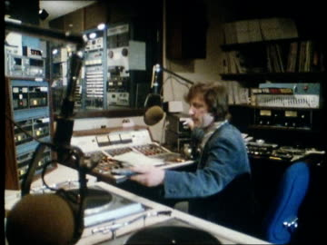 1982 radio station - radio broadcasting stock videos & royalty-free footage