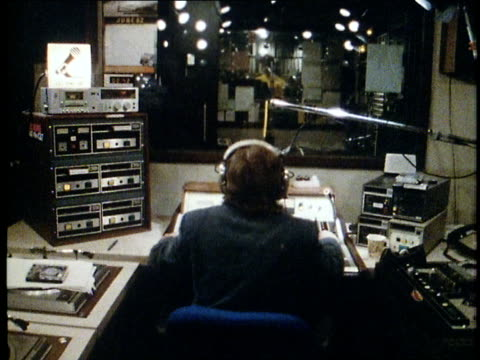 1982 radio station - radio studio stock videos & royalty-free footage