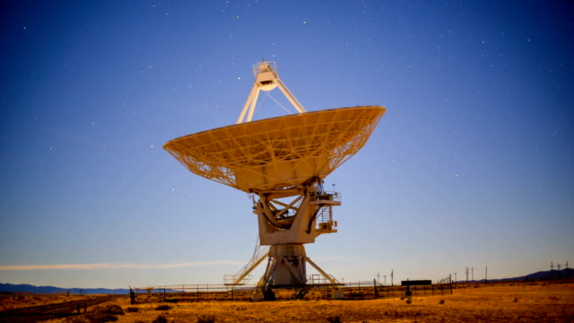 radio telescope - antenna aerial stock videos & royalty-free footage