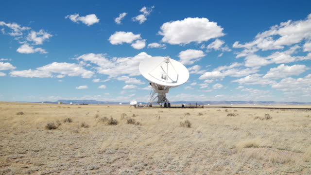 radio telescope - observatory stock videos & royalty-free footage