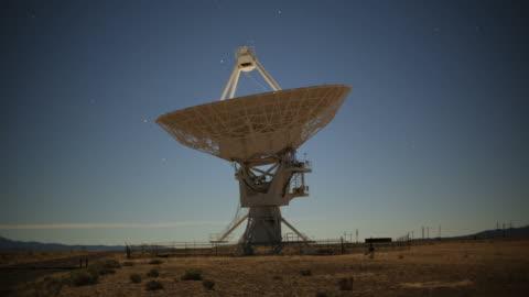 radio telescope - telecommunications equipment stock videos & royalty-free footage
