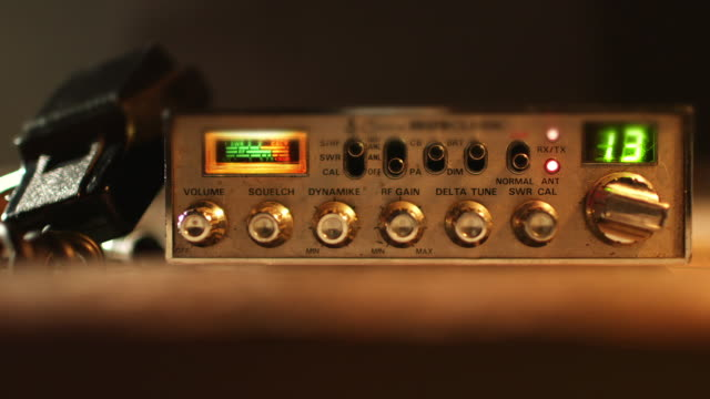 cb radio trying to find signal - radio stock videos & royalty-free footage