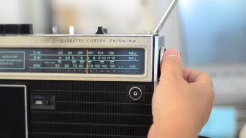 radio - radio broadcasting stock videos & royalty-free footage