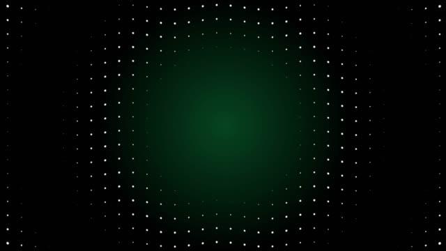 vídeos de stock, filmes e b-roll de partículas de tela led de onda de rádio 4k. animação de luz do circuito. loopable. - joining the dots