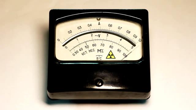 Radioactivity level indicator