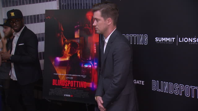 Rafael Casal at the Blindspotting New York Premiere at Angelika Film Center on July 16 2018 in New York City