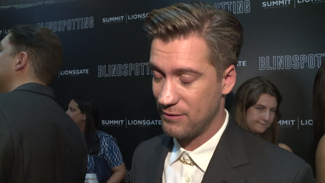 INTERVIEW Rafael Casal on the chemistry between the actors in the film at the Blindspotting New York Premiere at Angelika Film Center on July 16 2018...