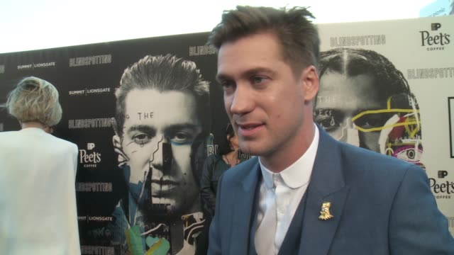 INTERVIEW Rafael Casal on the film at the Blindspotting Oakland Premiere at The Grand Lake Theater on July 11 2018 in Oakland California