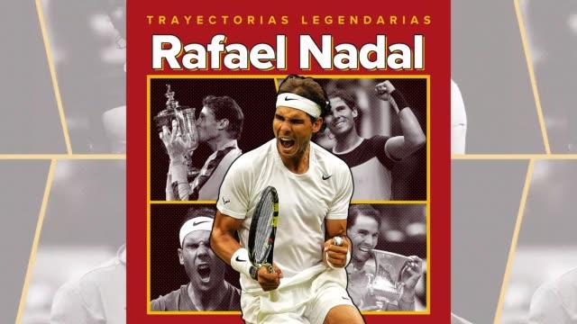 rafael nadal es un tenista español y uno de los mejores jugadores en la historia del tenis. el mallorquín es cinco veces jugador atp del año, el... - majorca stock videos & royalty-free footage