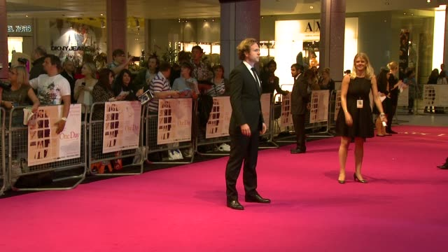 Rafe Spall at the One Day European Premiere at London England