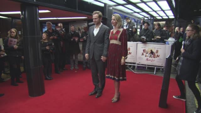 Rafe Spall Elize du Toit at 'Mum's List' UK Film Premiere on November 23 2016 in London England