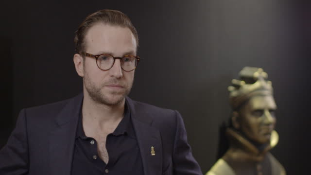 INTERVIEW Rafe Spall on being nominated being inspired by his father what makes theater so special at The Olivier Awards Nominees Luncheon at...