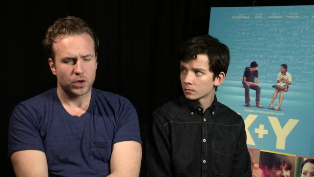 INTERVIEW Rafe Spall on his character their motivation at 'XY' Interview on October 15 2014 in London England