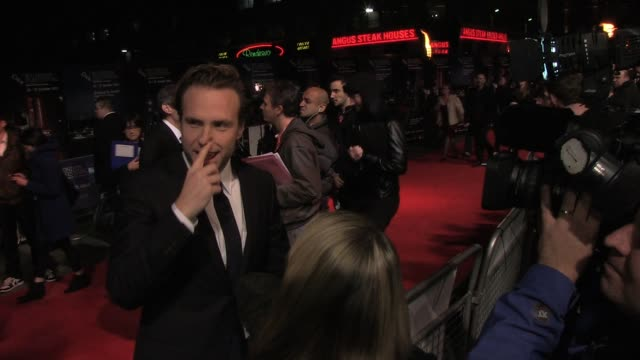 Rafe Spall Rafe Spall at Empire Leicester Square on October 25 2011 in London England