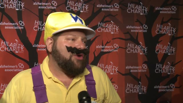 Raffi Adlan on the importance of tonight's event at Hilarity for Charity's 5th Annual Los Angeles Variety Show Seth Rogen's Halloween at Hollywood...