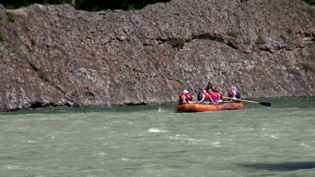 MS Rafting on Bow river / Banff, Alberta, Canada