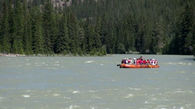 MS TS Rafting on Bow river / Banff, Alberta, Canada