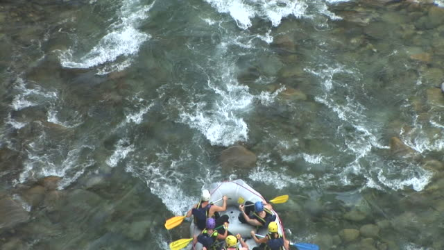 hd: rafting - rafting stock videos and b-roll footage