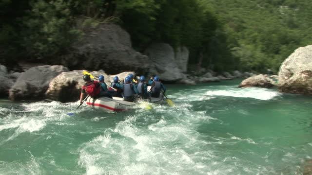 hd: rafting - whitewater rafting stock videos & royalty-free footage
