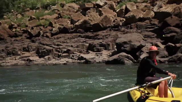 WS Rafting with a boat at Cataratas do Iguacu / Foz do Iguacu, Parana, Brazil