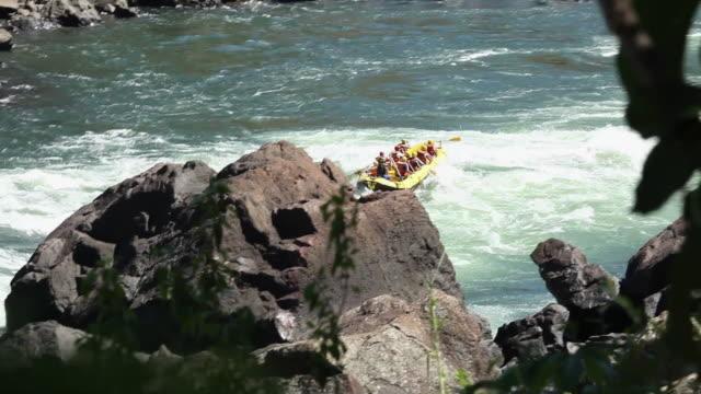 WS Rafting with rubber boat at Cataratas do Iguacu / Foz do Iguacu, Parana, Brazil