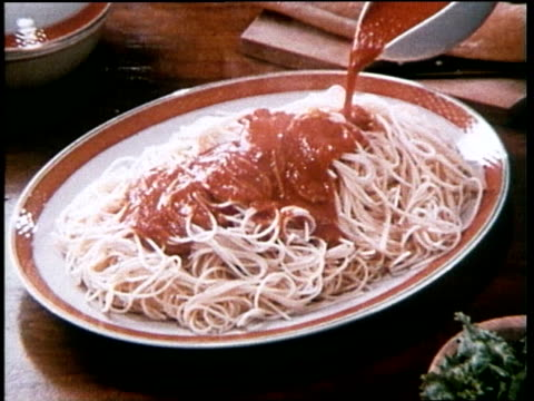 ragu spaghetti sauce commercial - branding stock videos & royalty-free footage