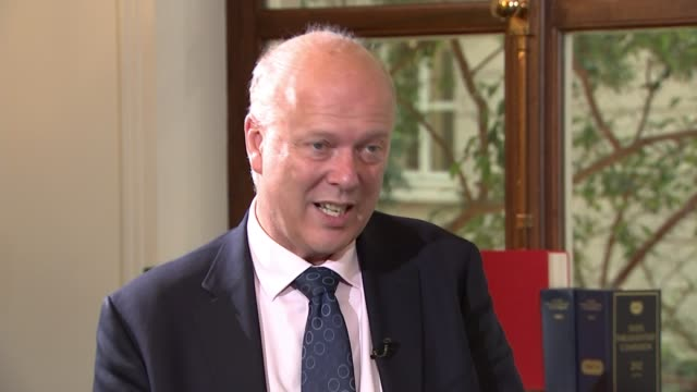 Chris Grayling orders inquiry into how rail industry is organised ENGLAND Cumbria Oxenholme EXT Train leaving platform at Oxenholme station London...