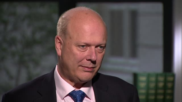 commuters furious over further fare increases; england: london: int chris grayling mp interview sot. - fare video stock e b–roll