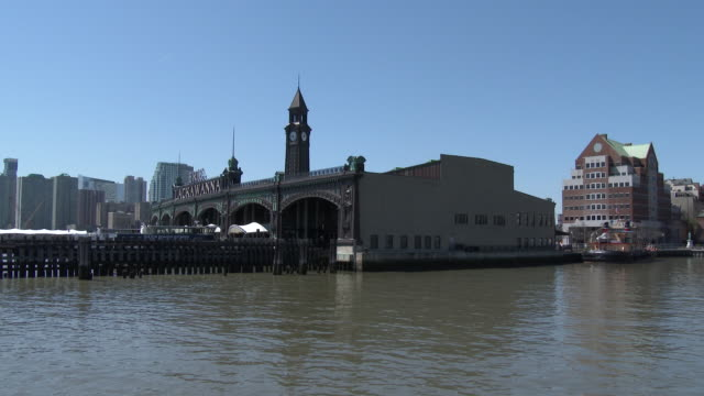 Rail & Ferry Terminal / Clock Tower - NJ Transit, Hoboken, NJ